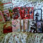 Hab mir mal ein paar neue Mangas gekauft :3
