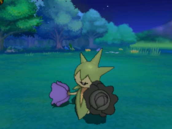 Shiny Roselia nach 1129 Hordenentcounter