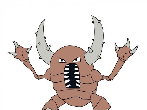 Daily Pokémon 127 - Pinsir