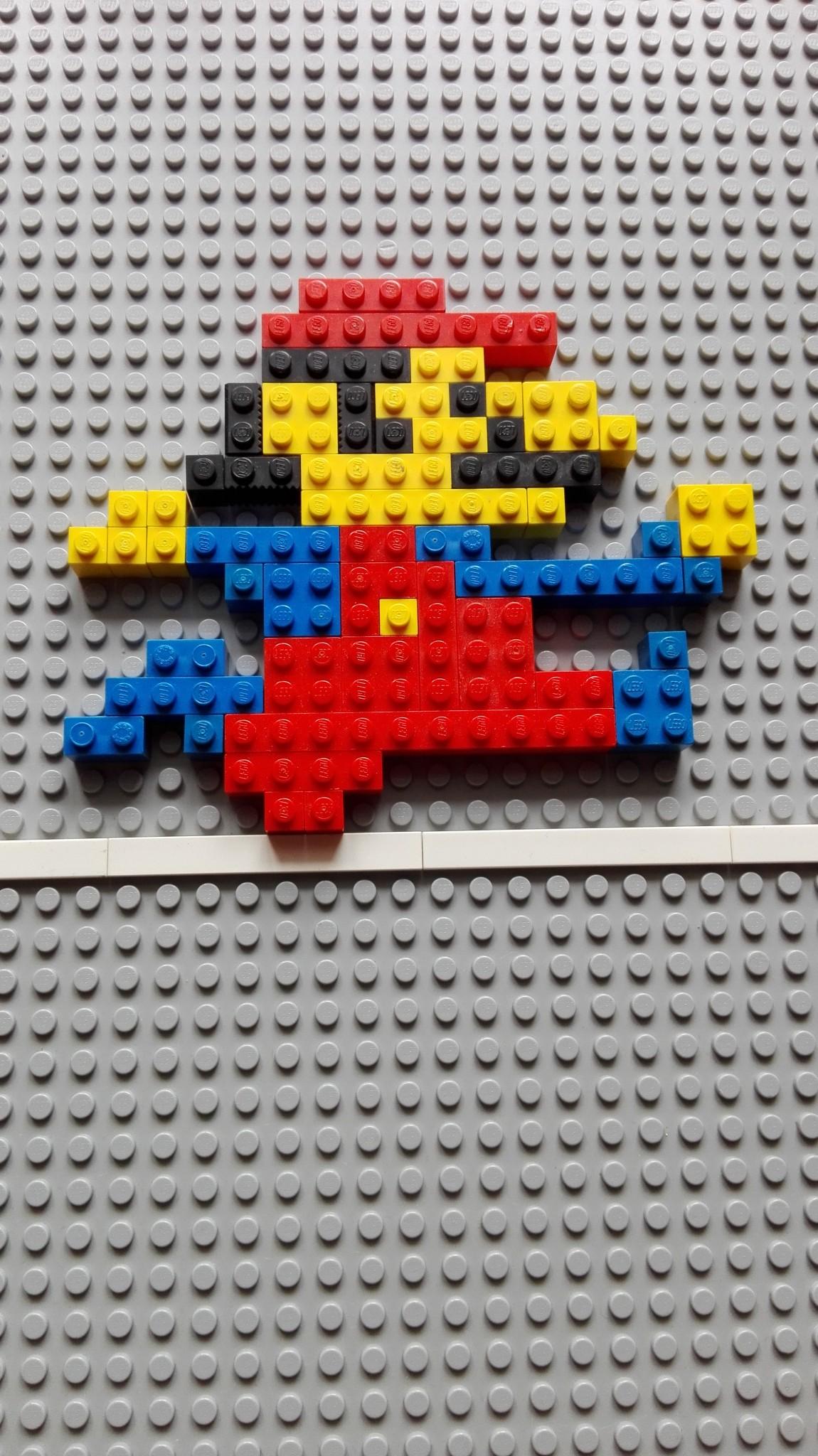 Pixel Art mit Lego
