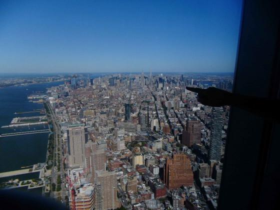 Ausblick ONE WTC