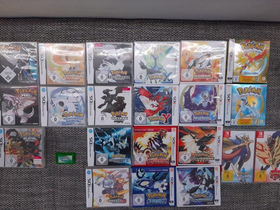 Pokémon-Hauptspiel-Sammlung