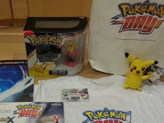 Ausbeute vom Pokémon Day 2013 München