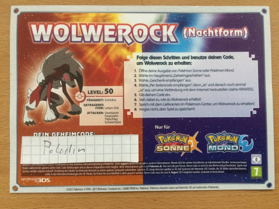 Wolwereck Code