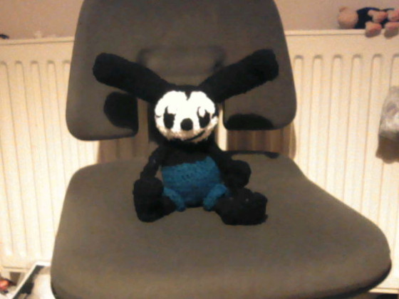 Oswald the lucky rabbit(aus wolle)