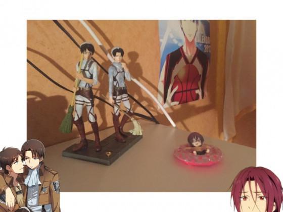 Eren, Levi, Rin