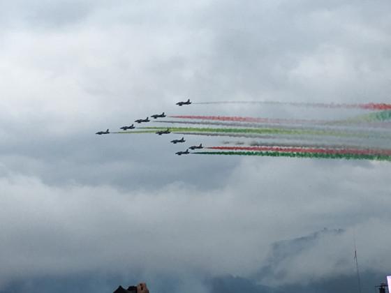 Frecce Tricolore aus Italien