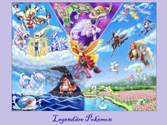 Legendäre Pokemon