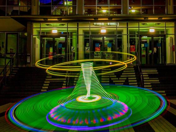 UFO-Landung auf dem Gelände der Hochschule