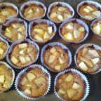 Apfelmuffins à la Cleurissé, Herkules und Nortia