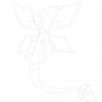 Mega-Libelldra Lineart