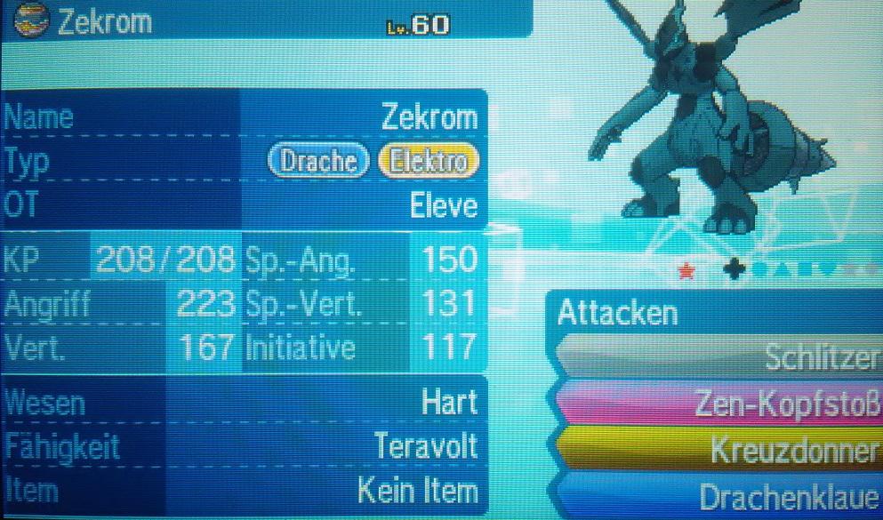 shiny Zekrom