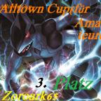 Alltown Cup (für Amateure) Platz 3 Zoroark65 illus.Strawmaster