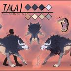 Tala ~ Reference Sheet (Feral)