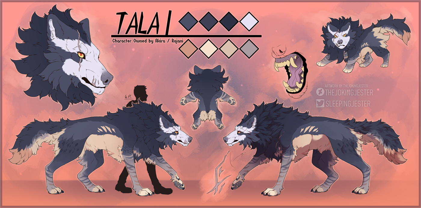 Tala ~ Reference Sheet (Feral)
