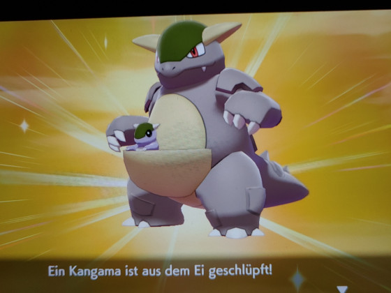 Shiny Kangama :D