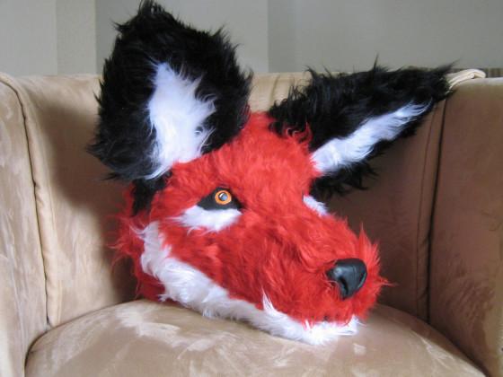 Fox Fursuit - Kopf