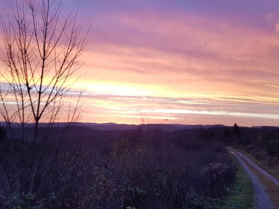 Farbenspiel des Himmels