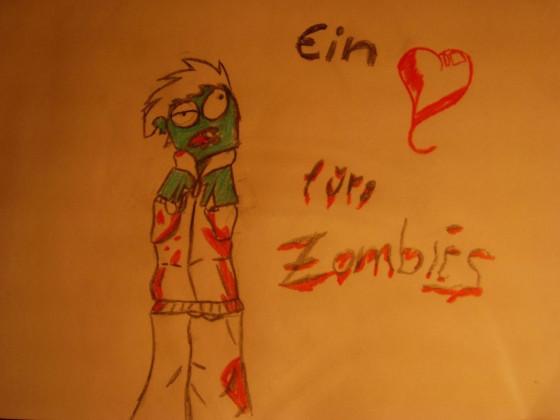 Ein ♥ für Zombies xD
