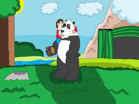 Hab dich Lieb, mein großes Panda-Bärchen
