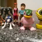 Monster Ranger Figuren