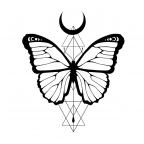 Schmetterling Tattoo Design
