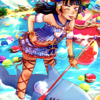 Summer Beach Yohane (redraw)