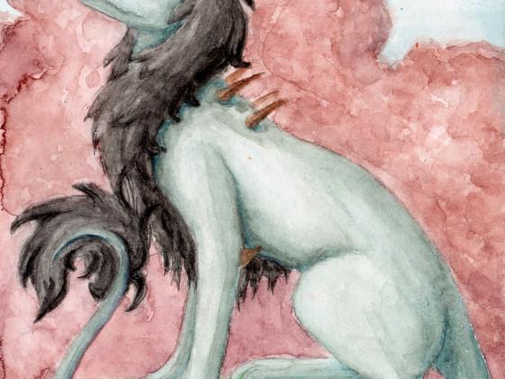Redraw: Weißer Drache