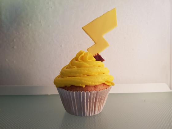 Pikachu-Cupcake