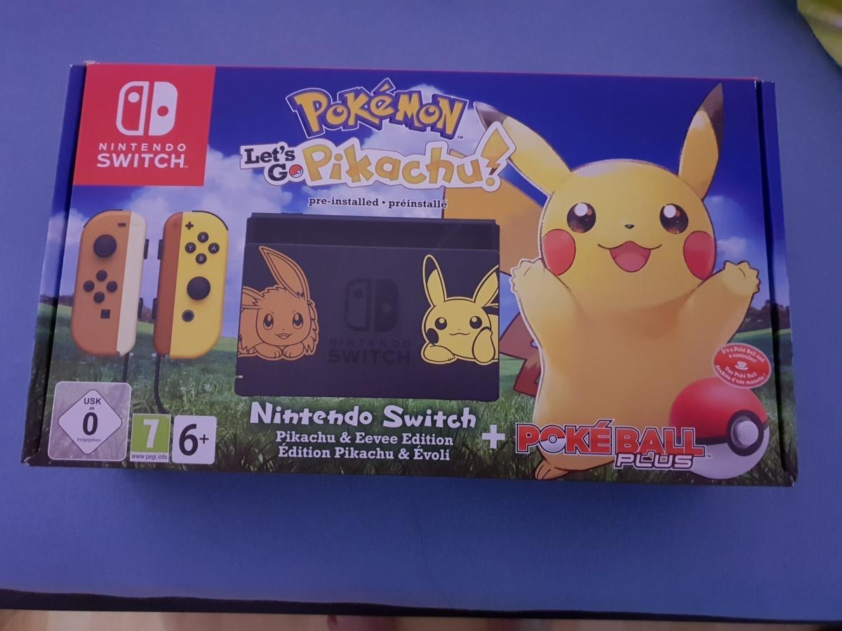 Let's Go and play Pokémon