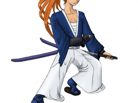 Kenshin-Farbige Version