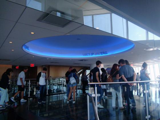Im Gebäude ONE WTC