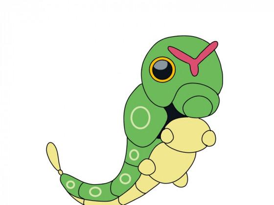Daily Pokémon 10 - Raupy