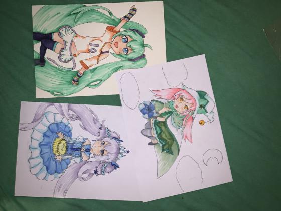 Mein selbst gemachten Mangas