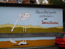 Glaube an Jesus = Kopf in den Sand stecken?