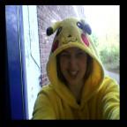 Ich als Pika-Pikachu. :3 Abi-Mottowoche. ;)