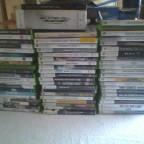 Meine Xbox spiele sammlung die ich verkaufe :D