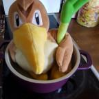 Heute gibs ente mit Suppengrün