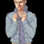 Charakterbild Michael Forrester
