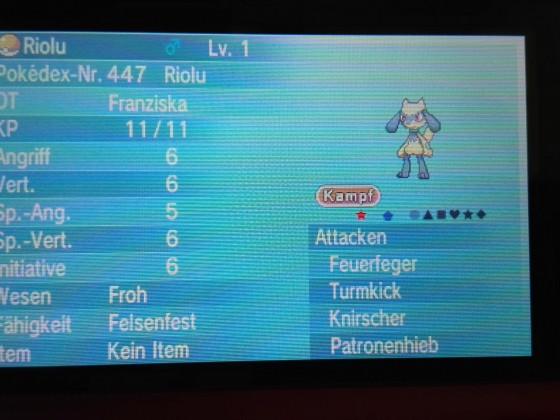 Shiny Riolu #1