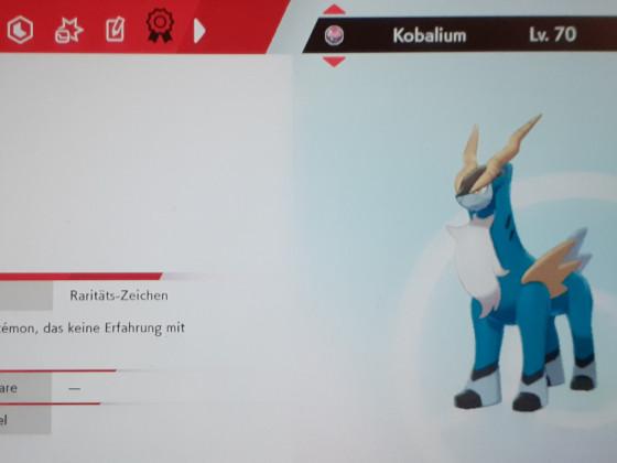 Kobalium (Raritäts-Zeichen)