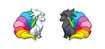 Vulnona white+black Rainbow