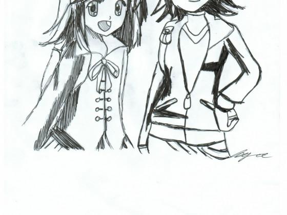 Zeichnung oder so .-.