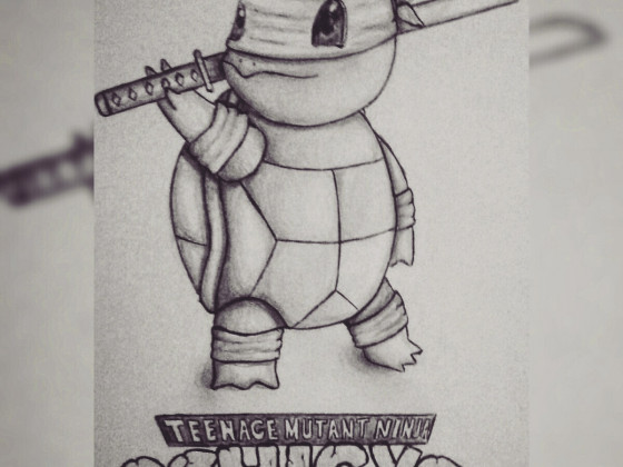 Teenage Mutant Ninja Schiggy