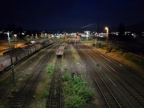 Schienen in Hagen @ Night