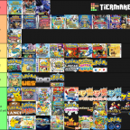 Pokemon Spin Off Tierlist