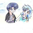 Hanon & Nagisa by Blue_Umbreon