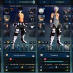 S4 League - Charaktere (Verlauf)