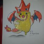 pikachu Cosplay Mega Glurak Y