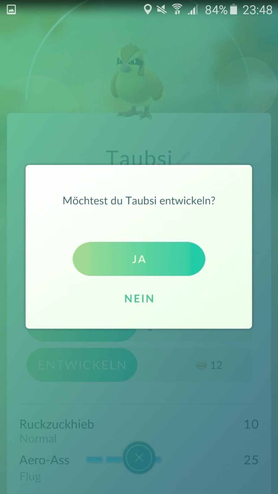 pokemon go entwickeln ep